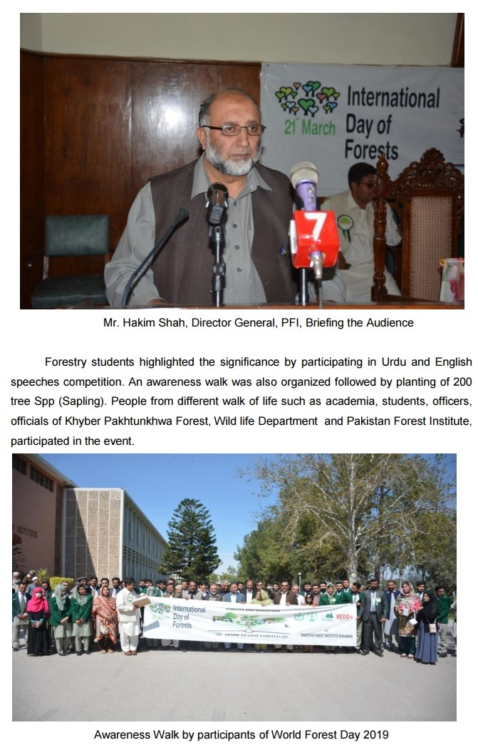 Forest Institute Peshawar - News & Events